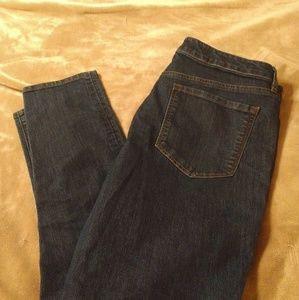 Loft 5 Pocket Curvy Skinny Jeans